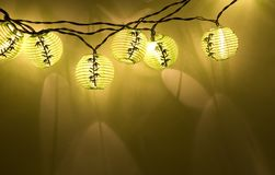 Asian Globe Lanterns Stock Photos