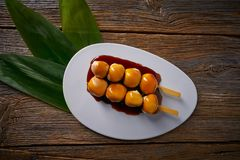 Asian glutinous rice Dumplings Vietnamese. Asian glutinous rice Sticky Dumplings Vietnamese Banh It Tran mochi Stock Images