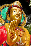 Asian god statue Stock Photo