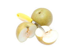 Asian golden pear Stock Photo