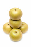 Asian golden pear royalty free stock photo