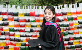 Asian graduate. Stock Images