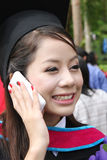 Asian graduate. Stock Photo