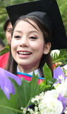 Asian graduate. Royalty Free Stock Photo