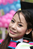 Asian graduate. Royalty Free Stock Image