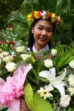 Asian graduate Stock Photo