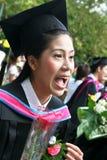 Asian graduate royalty free stock photo