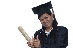 Asian Graduate student Stock Images