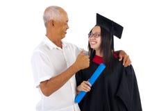 Asian graduation Stock Images