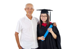 Asian graduation Stock Photos