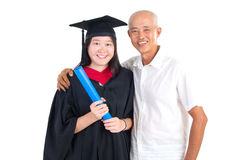 Asian graduation Royalty Free Stock Images