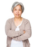 Asian grandmother Royalty Free Stock Images