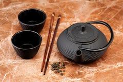 Asian Green tea Stock Photos