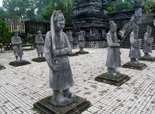 Asian guards statues Stock Images