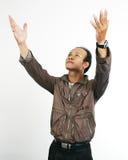 Asian guy 10. Asian guy series on white background stock photos
