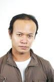 Asian guy 5. Asian guy series on white background stock photos