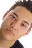 Asian guy angle. Shot of an asian guy angle royalty free stock image