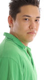 Asian guy headshot vertical Stock Photo