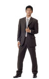 Asian handsome business man Royalty Free Stock Photos