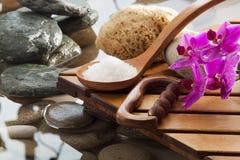 Asian harmony for natural beauty Stock Photos