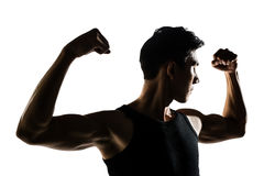 Asian healthy muscular Stock Images