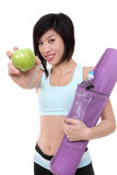 Asian Healthy Woman Royalty Free Stock Images