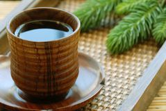 Asian herbal tea Royalty Free Stock Images
