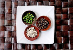 Asian Herbs And Spices Stock Photography