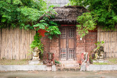 Asian house Stock Photography