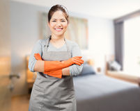 Asian housewife Royalty Free Stock Photos