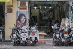 Asian idea of copyright Stock Photography