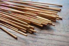 Asian incense closeup Royalty Free Stock Photo