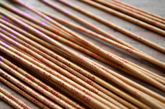 Asian incense closeup Stock Photos