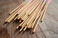 Asian incense closeup Stock Photo