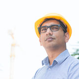 Asian Indian engineer portrait Stock Image
