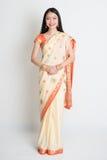 Asian Indian girl smiling Royalty Free Stock Image