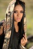 Asian Indonesian Girl Royalty Free Stock Photo