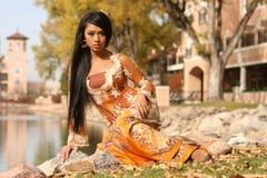 Asian Indonesian Girl Stock Photography