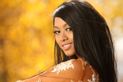 Asian Indonesian Girl Royalty Free Stock Photography