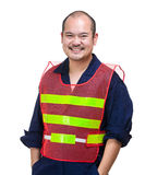 Asian industrial worker Royalty Free Stock Image