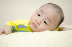 Asian infant Stock Photography