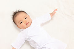 Asian infants Stock Photo