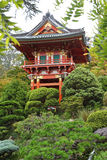 Asian garden background. Asian influence abstract garden background Stock Images