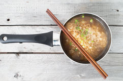 Asian instant noodle Royalty Free Stock Photography