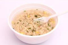 Asian instant soup Stock Photos