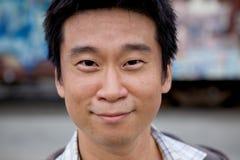 asian interestng man στοκ εικόνα με δικαίωμα ελεύθερης χρήσης