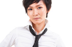 Asian Japanese Rock Girl. Close up Asian Japanese Rock Girl Portrait stock images