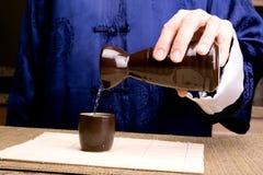 Asian japanese sake. An asian traditional japanese sake royalty free stock images