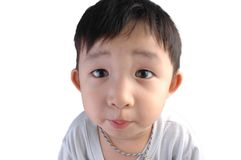 Asian kid royalty free stock photography