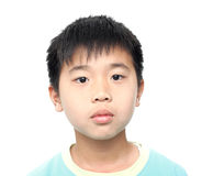 Asian kid boy Stock Images